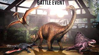 getlinkyoutube.com-Jurassic World™ The Game: Max Level Weekend Battle Event