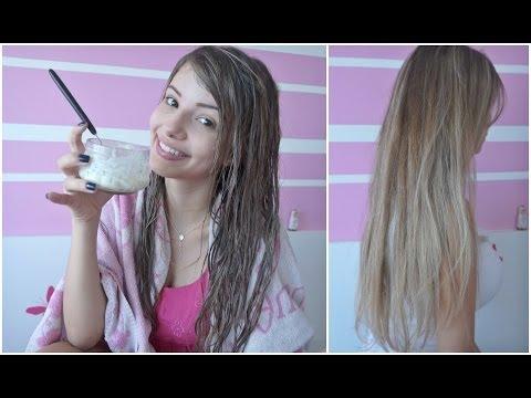Cabelo Perfeito com Iogurte!!! Adeus cabelo maltratado!