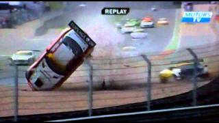 ADAC GT masters crash