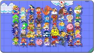 getlinkyoutube.com-Super Mario Maker Amiibo Customes