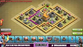 getlinkyoutube.com-Diseño de aldea/base de guerra PERFECTA Ayuntamiento nivel 6 | Clash of Clans en Español