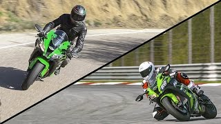 getlinkyoutube.com-2016 Kawasaki ZX10-R Review: Street & Track Test! | ON TWO WHEELS