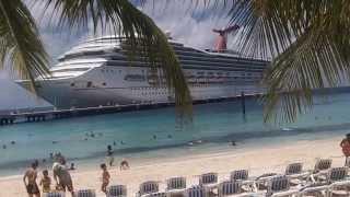 "getlinkyoutube.com-Grand Turk Island via ""Carnival Victory"" Cruise"