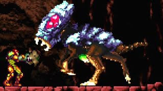 Metroid 2 Remake (PC) All Bosses (No Damage)