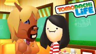 Tomodachi Life 3DS Princess Peach Suitors, Gossip Girls Cafe Gameplay Walkthrough PART 49 Nintendo