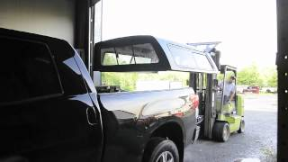 getlinkyoutube.com-Toyota Tundra Truck Cap by A.R.E. Full Installation