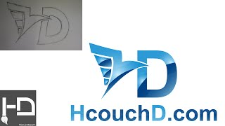 getlinkyoutube.com-درس 45 : كيفية رسم شعار فيكتور من رسمة على الورق بإستعمال اليستريتور