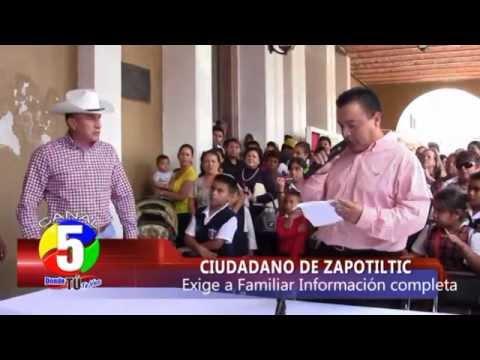 ZAPOTILTIC RUEDA DE PRENSA CARLOS VALLE