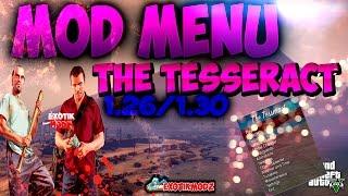 getlinkyoutube.com-MOD MENU GTA V 1.26/1.30 THE TESSERACT - NO FREEZE - Bypass - ONLINE 1.26/1.30 + Tutorial, Download
