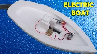 how to make rc boat at home