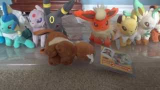 getlinkyoutube.com-Epic Pokemon Canvas Plush Collection! A Must SEE!
