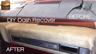 How to Recover Your Dash - 1973-1987 GM Truck