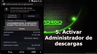 getlinkyoutube.com-Qué hacer cuando Google Play store no funciona android todos dispositivos