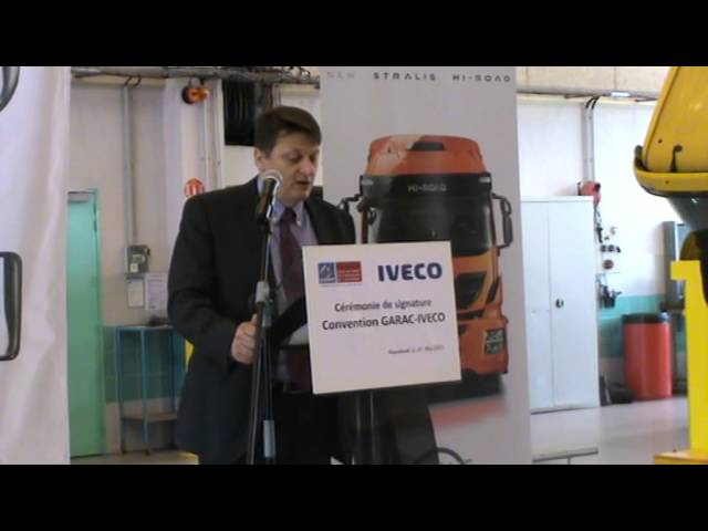 Partenariat GARAC-IVECO