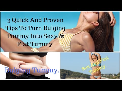 How to Get a Sexy and Flat Tummy in 2 Weeks