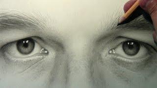 getlinkyoutube.com-Self Portrait: Eyes [Drawing Time Lapse]