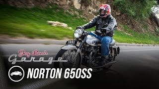 getlinkyoutube.com-1962 Norton 650SS - Jay Leno's Garage