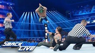 Kalisto vs. Baron Corbin: SmackDown LIVE, Nov. 8, 2016