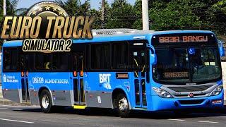 getlinkyoutube.com-Euro Truck Simulator 2 - Ônibus Urbano