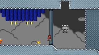 getlinkyoutube.com-Super Mario Bros. X (SMBX) Custom Level - Ludwigs Sky Stronghold