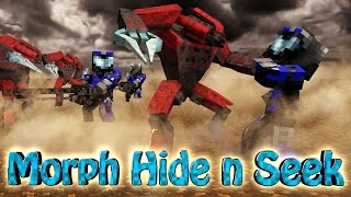 getlinkyoutube.com-Minecraft Mods | MORPH HIDE AND SEEK - HALO MOD! (Spartans, Halo 4, Warthogs)