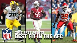 Every AFC Team's Best Free Agent Fit | NFL NOW