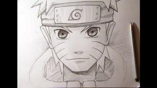 getlinkyoutube.com-Как нарисовать аниме. Наруто. Naruto