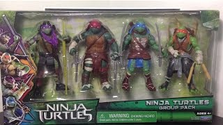 playmates teenage mutant ninja turtles: group pack (target exclusive) figures review