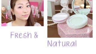 getlinkyoutube.com-Fresh & Natural - Etude House base make up (Eng subs)