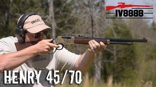 getlinkyoutube.com-Henry 45/70 Lever Action Rifle