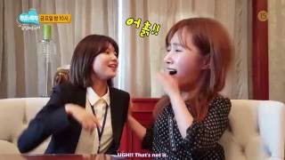 getlinkyoutube.com-[ENG SUB] 160630 Tiffany & Sooyoung - Cheering Message to Yuri in Law of the Jungle