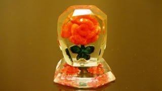 """getlinkyoutube.com-""""Роза"""" в оргстекле-2. Изготовление. Rose in plexiglass . Production"""