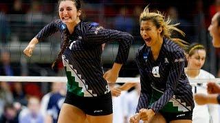 2015 Hawaii vs Penn st NCAA Women's Volleyball 3rd round