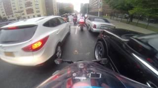 getlinkyoutube.com-Riding Thru NYC Streets | R.I.P Chase | #BikeLyfe | #ThrowBack | Q Recording