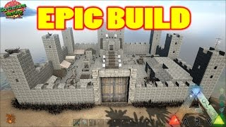 getlinkyoutube.com-Ark Survival Evolved - Epic Castle Build - Northland - You gotta see it!!
