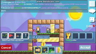 getlinkyoutube.com-Growtopia:One World Lock and a Few Grass World Trade Scam