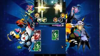 getlinkyoutube.com-Digimon Heroes Android - Battle Gameplay
