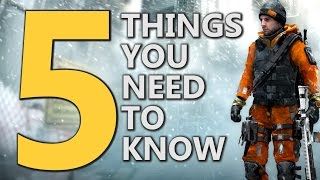 getlinkyoutube.com-The Division - 5 Things You NEED To Know!