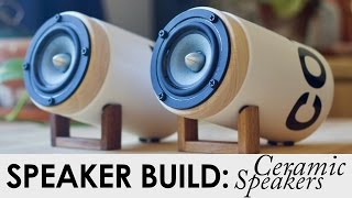 getlinkyoutube.com-Ceramic Speakers | FREE BUILD PLANS! | DIY Speaker Build