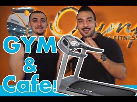 نادي صحي و كافيه في مكان واحد! | Gym and a cafe at one place