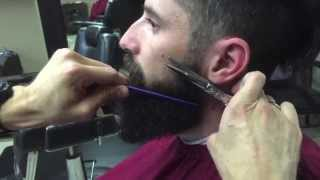 getlinkyoutube.com-How to Trim, Groom And Style Your Beard | Straight Razor Shave and Shave Oil