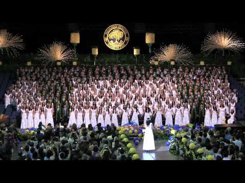 "Punahou Class of 2012 - Flash Mob / ""There You'll Be"" (Commencement 2012)"