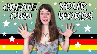 How to make up YOUR OWN GERMAN WORDS like a NATIVE SPEAKER width=