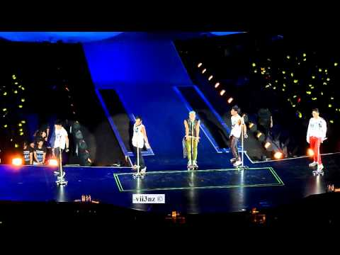 [Fancam HD] Big Bang - Cafe - Singapore Alive Tour 2012 120928