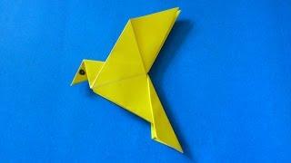 getlinkyoutube.com-Cara Membuat Origami Burung Merpati Sederhana | Origami Binatang