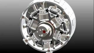 getlinkyoutube.com-New Split Cycle Engine Concept: The Doyle Rotary Engine