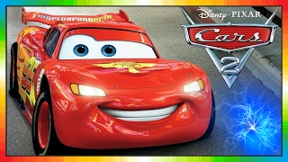 getlinkyoutube.com-Cars 2 - FRANÇAIS - Quatre Roues 2 - Les Bagnoles 2 - McQueen - McMissile - the cars part 2 (Game)
