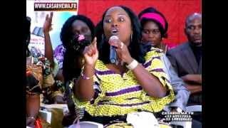 getlinkyoutube.com-Maman Micheline SHABANI Répond Maman OLANGI Par la Sagesse partie1