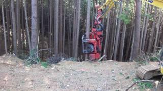 林業機械シリーズ その7  ハーベスタ1