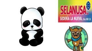 getlinkyoutube.com-como hacer un panda con limpiapipas